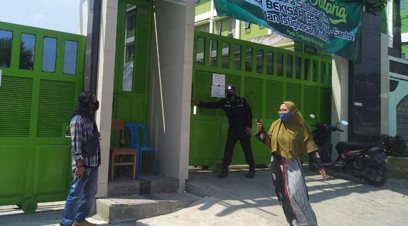 Acara IKBAR, Pemantapan Relawan Bekisar Wartawan Dilarang Liputan
