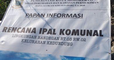 IPAL Komunal Wilayah Randegan Diduga Dipermainkan Oknum Dibalik Layar