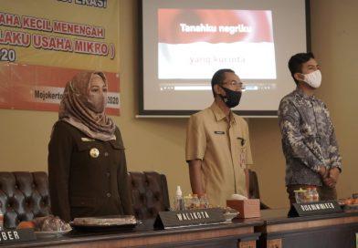 Wali Kota Mojokerto Untuk Atasi Dampak Ekonomi, Pelatihan UMKM Digencar