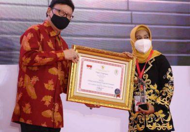 Awali Satu Data di Indonesia, Gayatri Raih Penghargaan dari Kemenpan RB