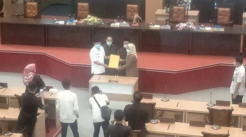 Rapat Dipimpin Ketua DPRD Kab.Mojokerto, Anggota DPRD Setujui Raperda Pengarustamaan Gender Menjadi Perda