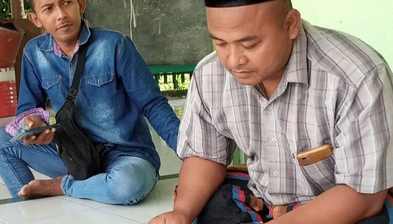Zainal Abidin, Ketua Korbin Kecamatan Jatirejo Diduga Pungli Bantuan Oprasional TPQ Dari Pemerintah