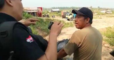 Galian C Milik H.Amin di Dusun Grogol Kepuhpandak, Kutorejo Diduga Ilegal, Kades: Yang Selatan Ilegal