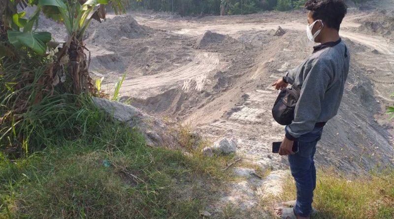 Galian C Diduga Ilegal di Dusun Sumbersari Sumberkarang Dlanggu Resahkan Warga