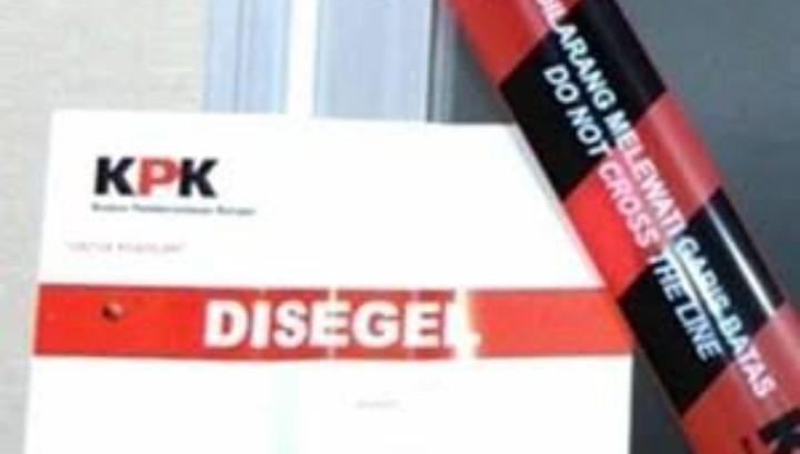 Ruang Bidang Pekerjaan Umum DPUPR Probolinggo Disegel KPK