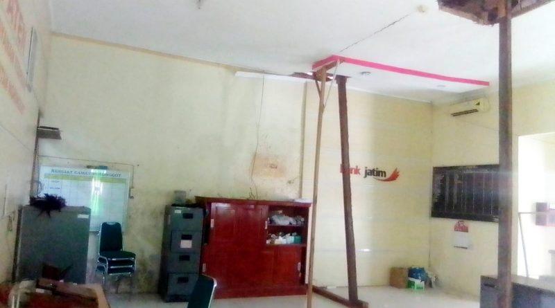 Kondisi Ruangan Pelayanan Umum Kecamatan Ngronggot Nganjuk Cukup Memperhatinkan, Begini Komentar Camat
