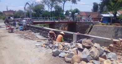 Pembangunan Plengsengan Sungai Bodor di Desa Plosoharjo Nganjuk, Diduga Melanggar Amanah Undang Undang